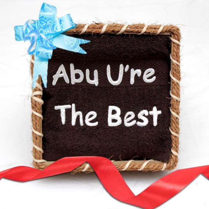 Abu You Are The Best