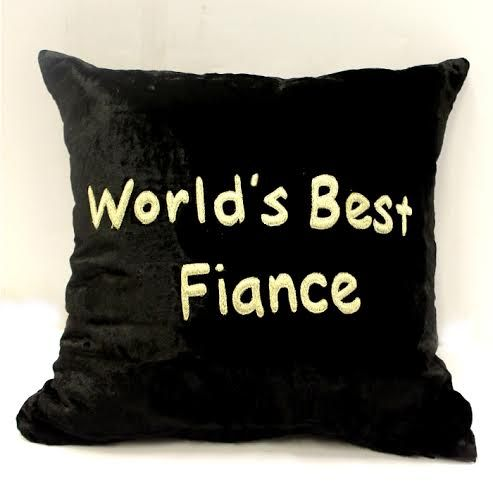 World Best Fiance Cushion