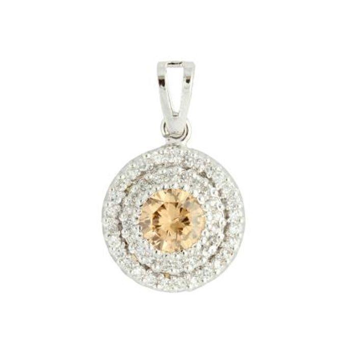 Champagne colored pendant