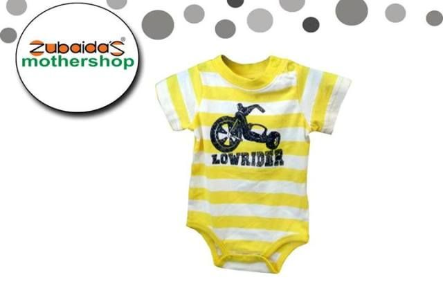 Yellow Suit For Baby