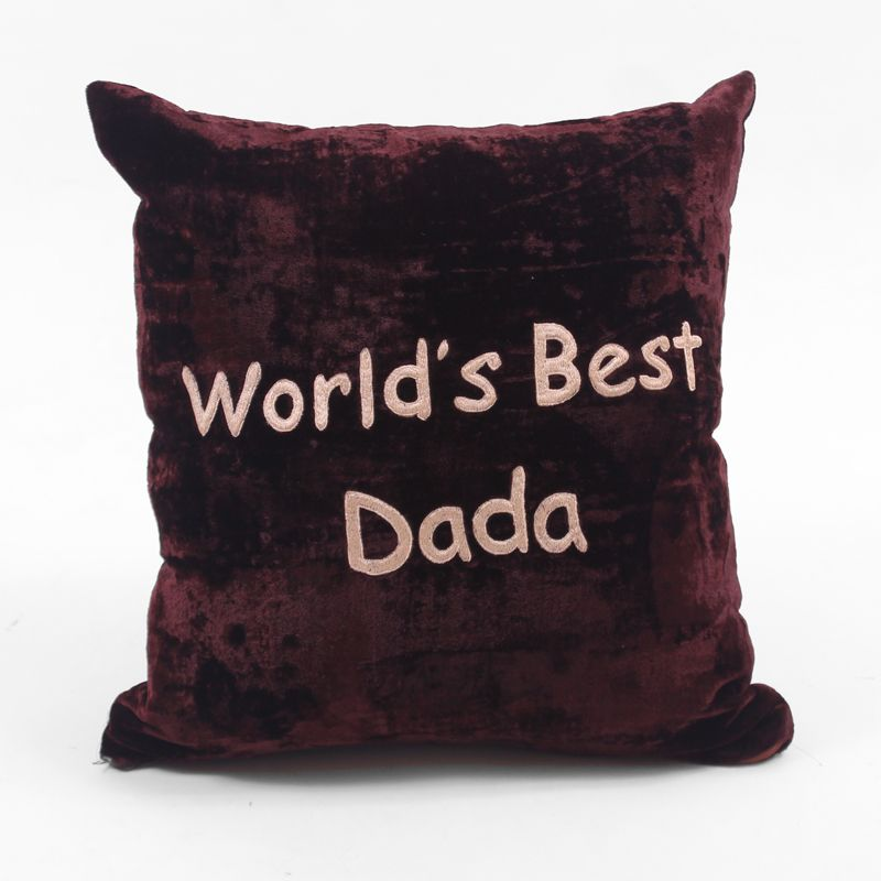 World's Best Dada Cushion