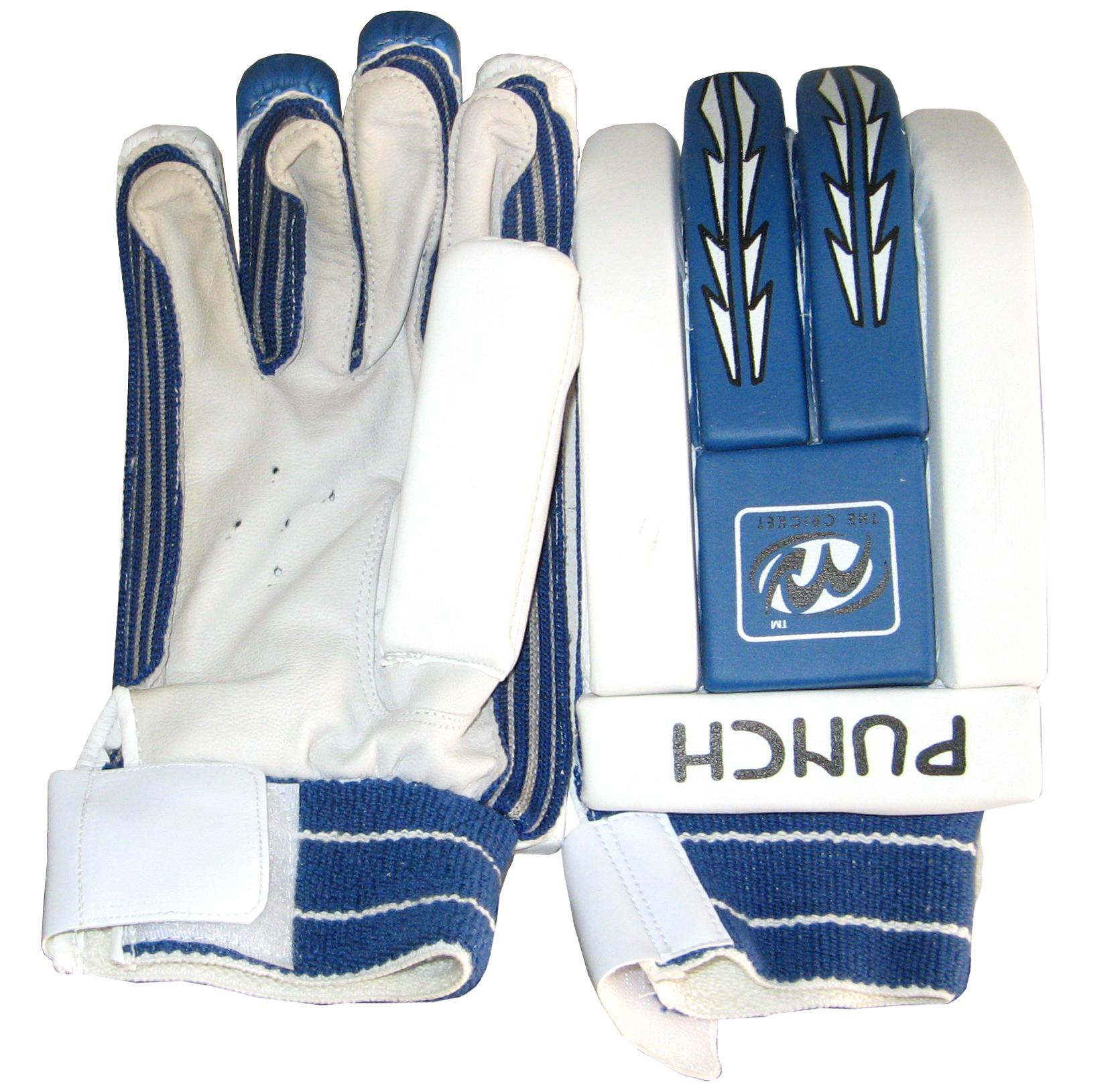 White Batting Gloves