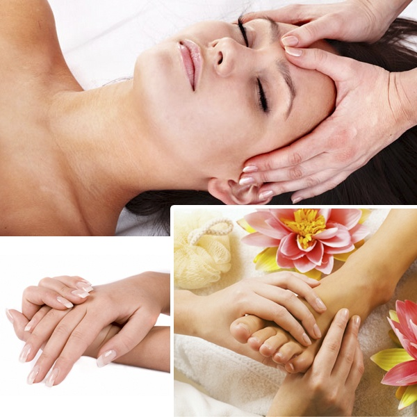Mani and Pedi with Eminence Facial