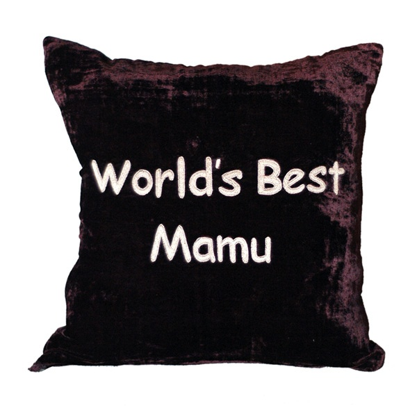World's Best Mamu Cushion