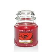True Rose Candle Jar