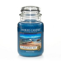 Turquoise Sky Candle Jar