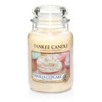 Vanilla Cupcake Candle Jar