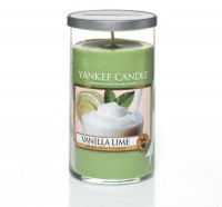 Vanilla Lime Candle Pillar
