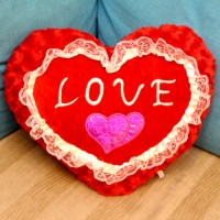 Heart Shaped Love Cushion