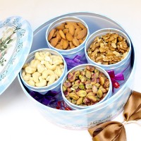 Dry Fruits in Tin Cans