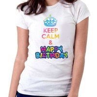 Keep Calm and Happy Birthday T-Shirt