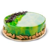 Chocolate Fudge Mirror Cake