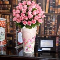 Pink 'n' Pretty Bouquet in a Bucket