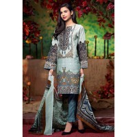 Grey Embroidered Lawn Suit by Gul Ahmed