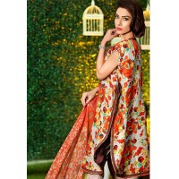 Organic Silk Lawn by Gul Ahmed