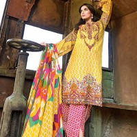 Embroidered Lawn Suit by Gul Ahmed