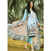Embroidered Chiffon Suit by Gul Ahmed
