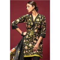 Black Khaddar Suit by Gul Ahmed