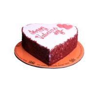 Red Valentino Cake