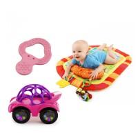 Feeding Spoon With a Car Toy