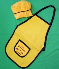 Bawarchikhana Apron and Chef Cap