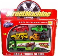 Street Machine Car And Truck Series 5 Pack