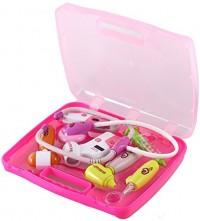 Kids Toys 8pcs Doctor Set Pink