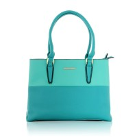 Two-Toned Green-Turquoise Bag