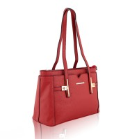 Elegant Red Handbag