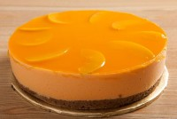 Peach & Orange Cheesecake