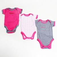 Interlock Body Suit For Baby Girls