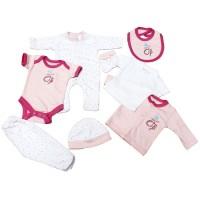 New Born Gift Set (8 pcs) For Girls