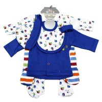 New Born Gift Set (8 pcs) For Boys