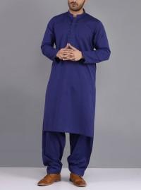 Blue Kurta Shalwar By Khaadi