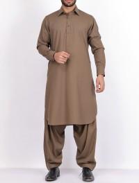 Light Brown Kurta Shalwar