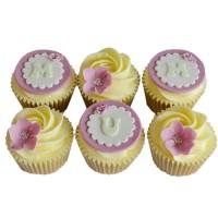 Mum & Flower Cup Cakes
