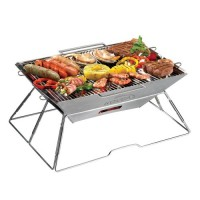 Stainless Portable Charcoal Gbbq Grill