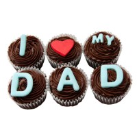 I Love My Dad Cup Cakes
