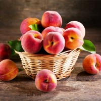 Healthy Peach Basket