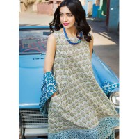 Khaadi Blue Breeze Lawn Suit