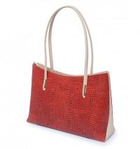 Dual Color Ladies Handbag