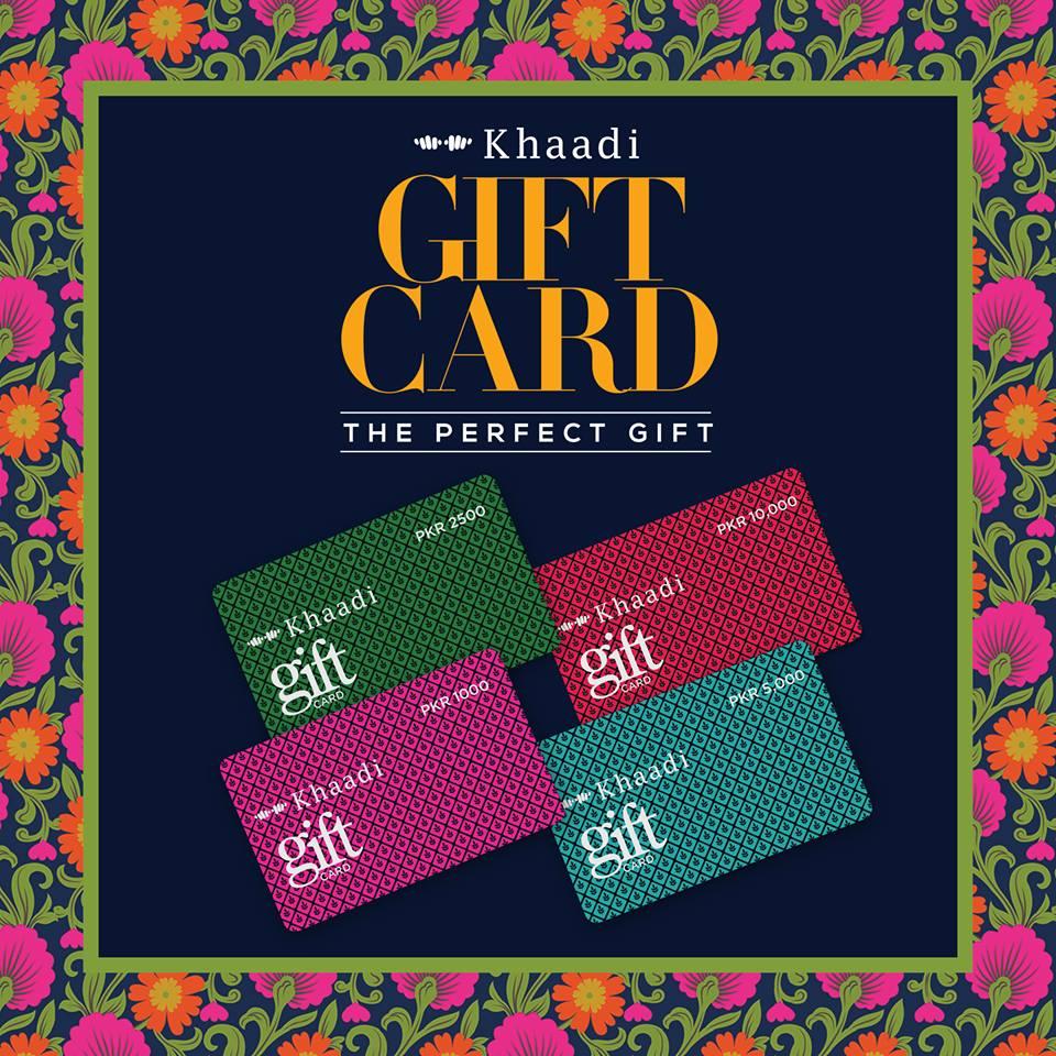 Tohfay Com Khaadi Gift Cards