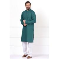 Fitted Green Kurta &  Shalwar By Khaadi