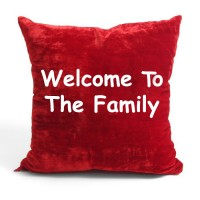 Welcome To The Family Cushion