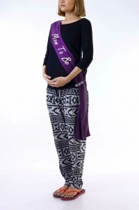 Mom to Be Party Sash