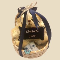 Khaala Ki Jaan Bear Basket