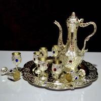 10 Pcs Beautiful Silver Kewa Tray