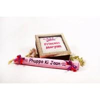 Phupo ki Jaan Towel with Cushion