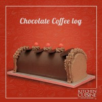 Chocolate Coffee Log