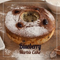 Blueberry Marble Cake